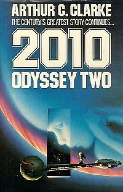 Boekcover 2010, Odyssey two