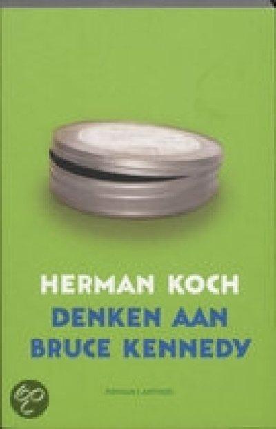 Boekcover Denken aan Bruce Kennedy