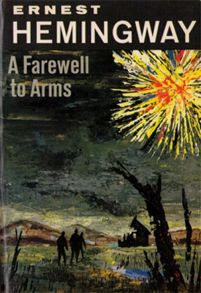 Boekcover A farewell to arms