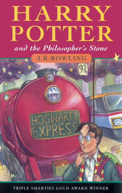Boekcover Harry Potter and the Philosopher's Stone