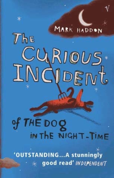 Boekcover The curious incident of the dog in the night-time