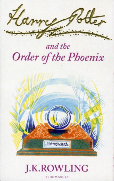 Boekcover Harry Potter and the Order of the Phoenix