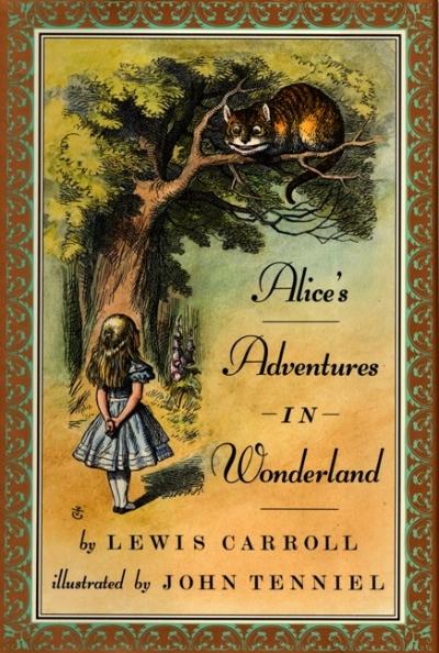Boekcover Alice in Wonderland
