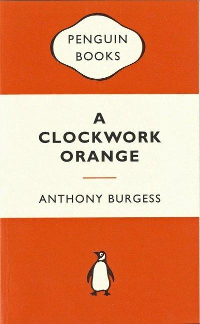Boekcover A clockwork orange