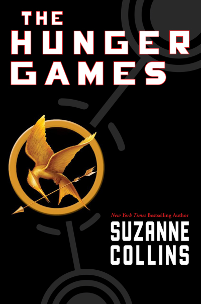 Boekcover The Hunger Games