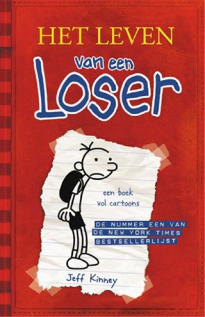 Boekcover Diary Of A Wimpy Kid