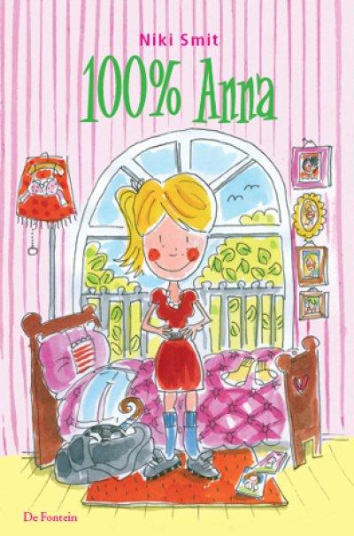 Boekcover 100% Anna