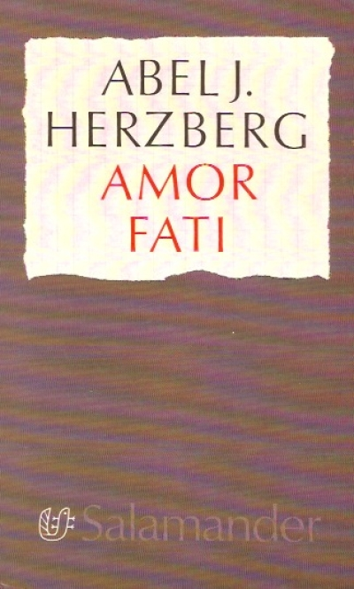 Boekcover Amor fati