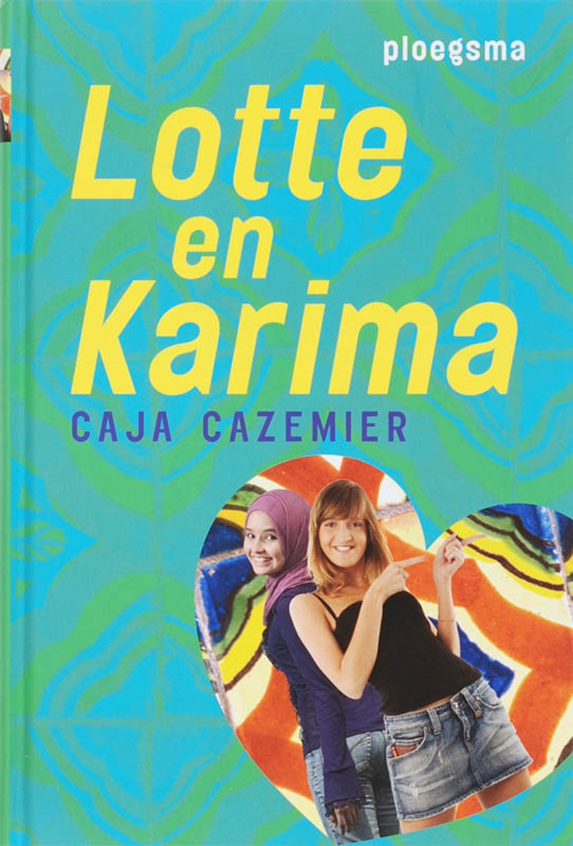 Boekcover Lotte en Karima
