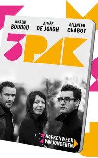 Boekcover 3Pakbundel 2021  door Khalid Boudou, Splinter Chabot en Aiméé De Jongh