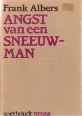Boekcover Angst van een sneeuwman