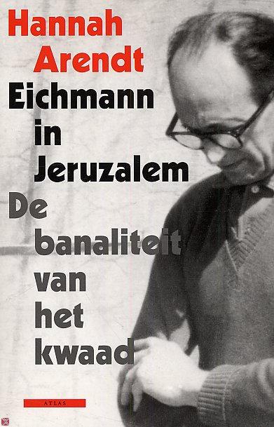 Boekcover Eichmann in Jeruzalem