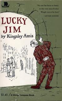 Boekcover Lucky Jim