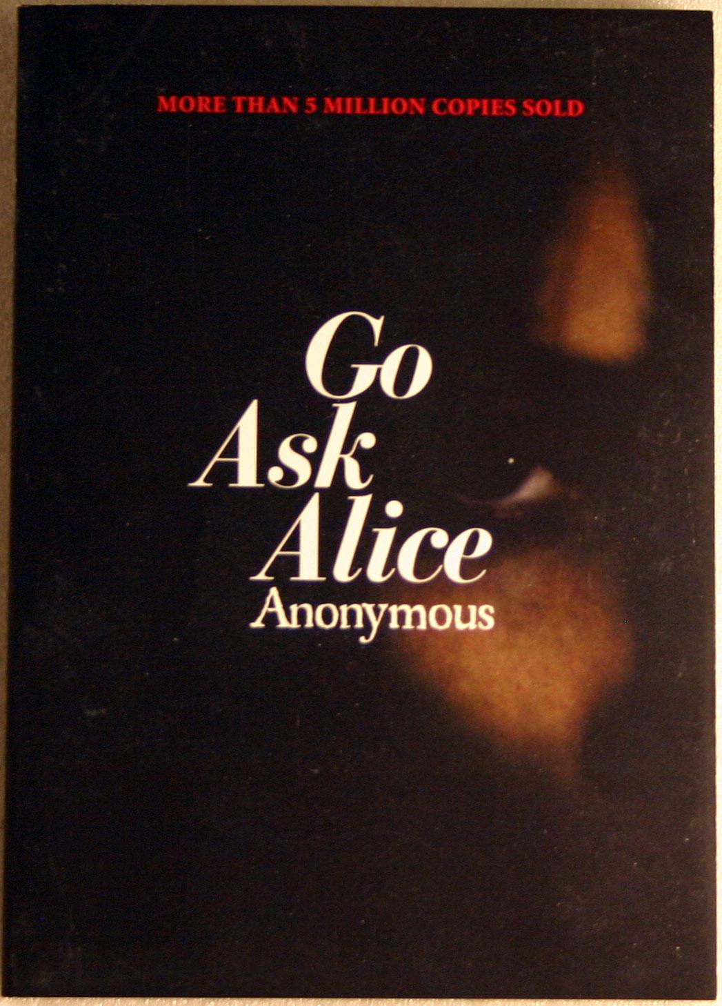 Boekverslag Engels Go ask Alice door Anonymous (4e klas havo