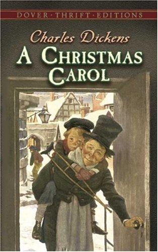 Boekcover A Christmas carol