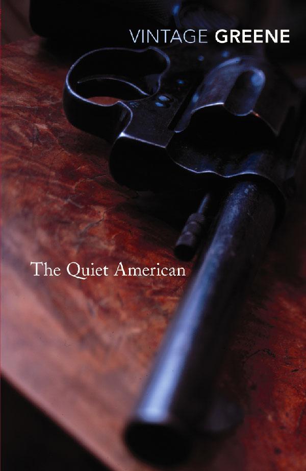 Boekcover The quiet American