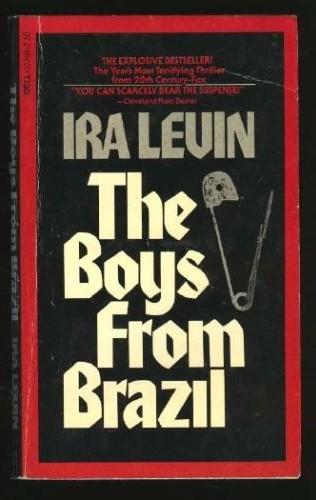 Boekcover The boys from Brazil
