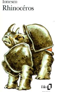 Boekcover Le Rhinoceros