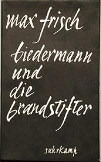 Boekcover Herr Biedermann und die Brandstifter