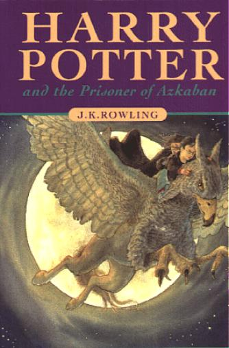 Boekcover Harry Potter and the Prisoner of Azkaban