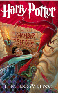 Boekcover Harry Potter and the Chamber of Secrets