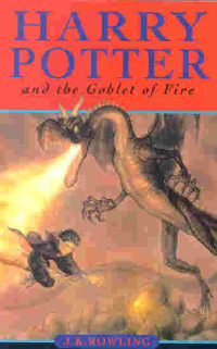 Boekcover Harry Potter and the Goblet of Fire