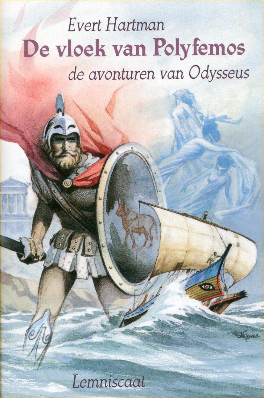 Boekcover De vloek van Polyfemos