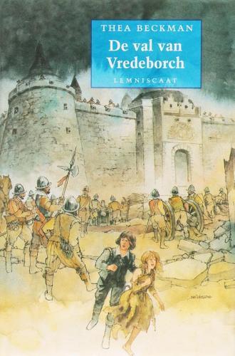 Boekcover De val van de Vredeborch