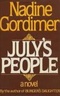 Boekcover July's people
