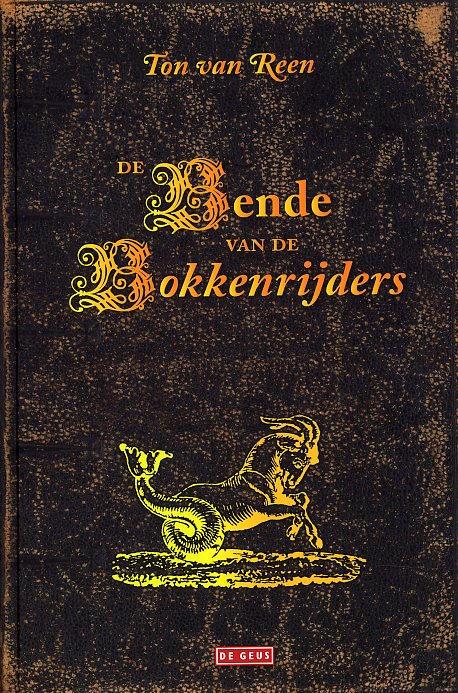 Boekcover De bende van de bokkenrijders