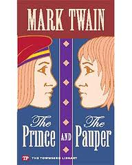 Boekcover The prince and the pauper
