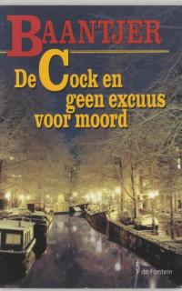Boekcover De Cock en geen excuus voor moord