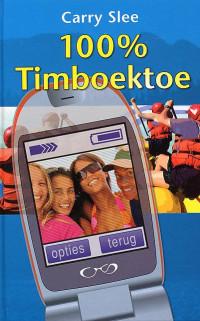 Boekcover 100% Timboektoe