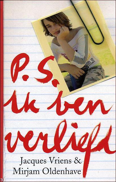 Boekcover P.S. ik ben verliefd