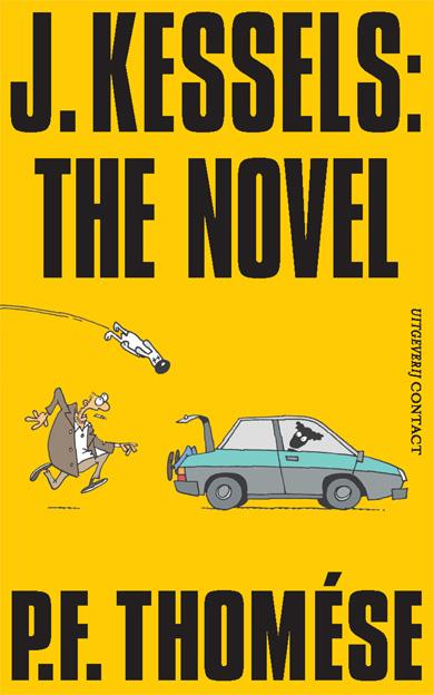 Boekcover J.Kessels: The novel