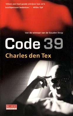 Boekcover Code 39