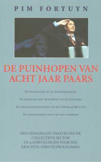 Boekcover De Puinhopen van Acht Jaar Paars