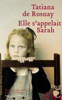 Boekcover Elle s'appelait Sarah
