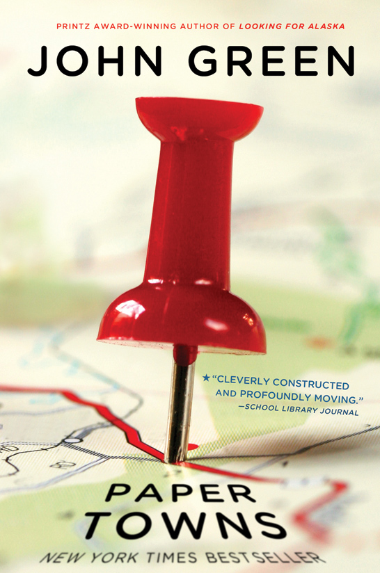 Boekcover Paper Towns