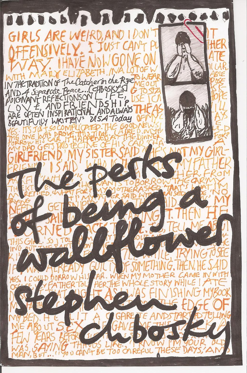 Boekcover The perks of being a wallflower