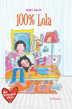 Boekcover 100% Lola
