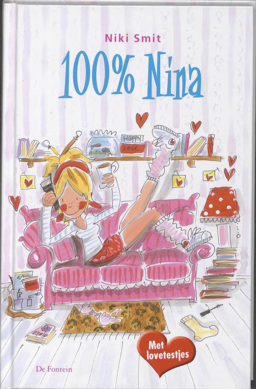 Boekcover 100% Nina