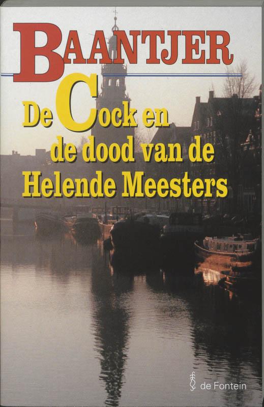 Boekcover De Cock en de dood van de helende meesters