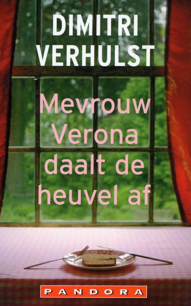 Boekcover Mevrouw Verona daalt de heuvel af