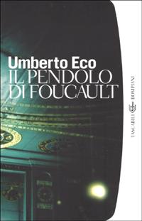 Boekcover Il pendolo di Foucault