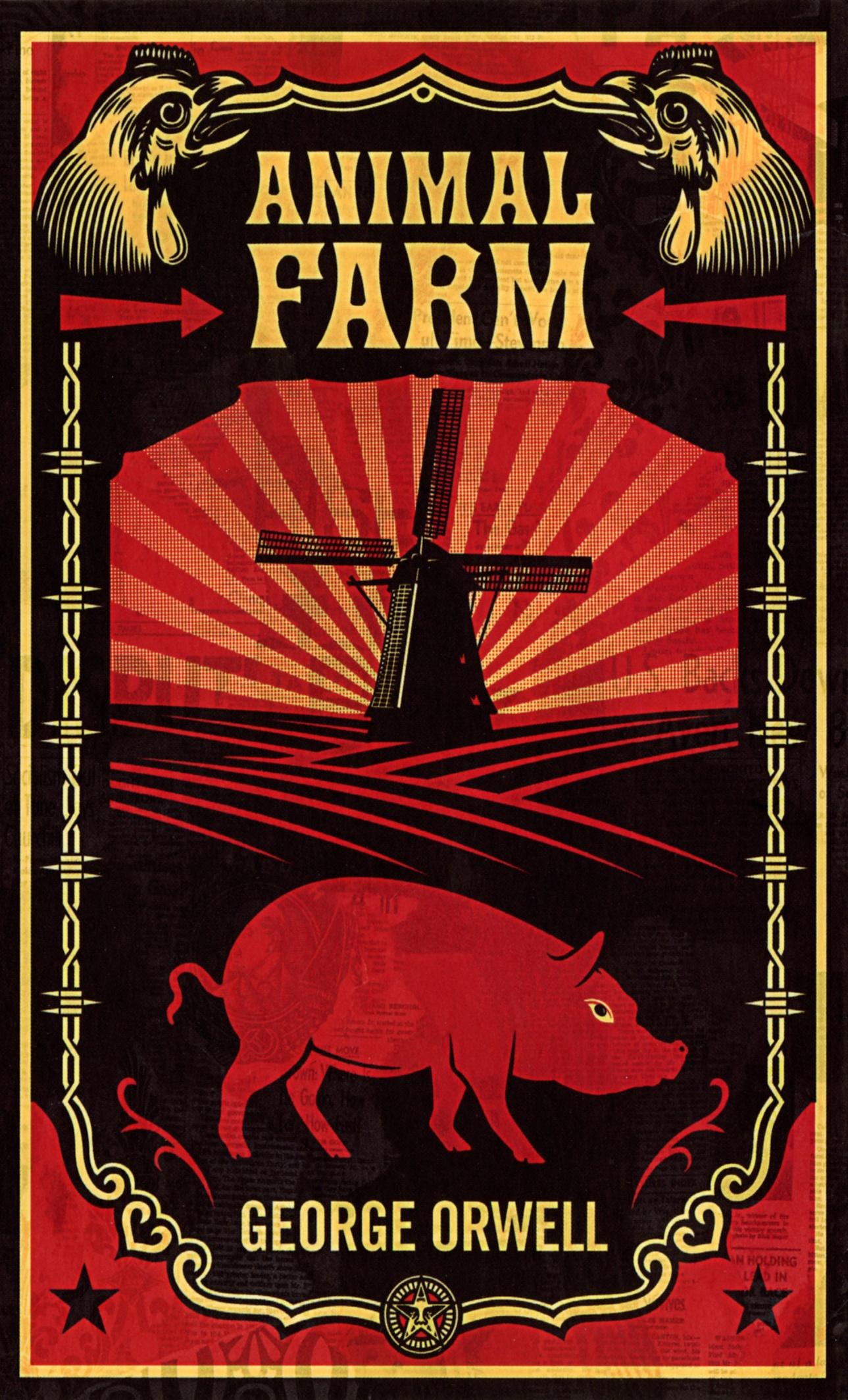 Boekcover Animal farm