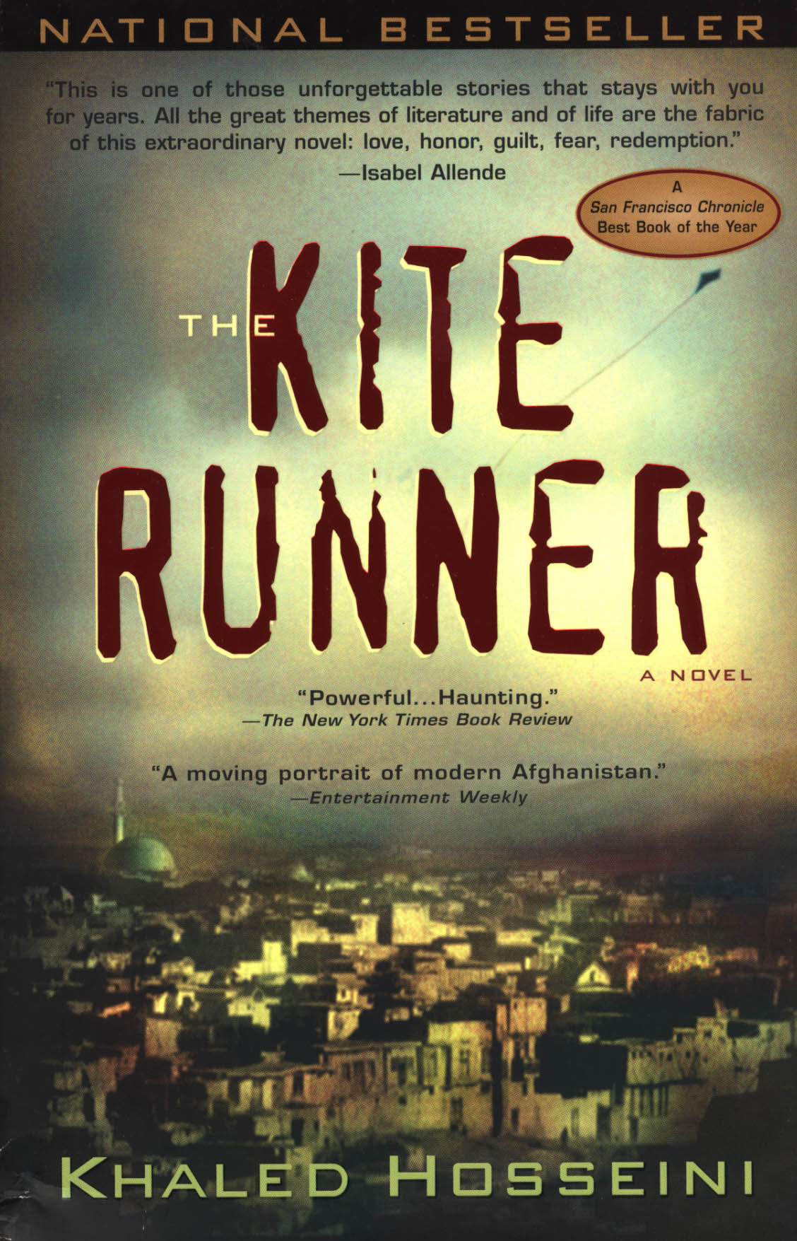 Boekcover The kite runner