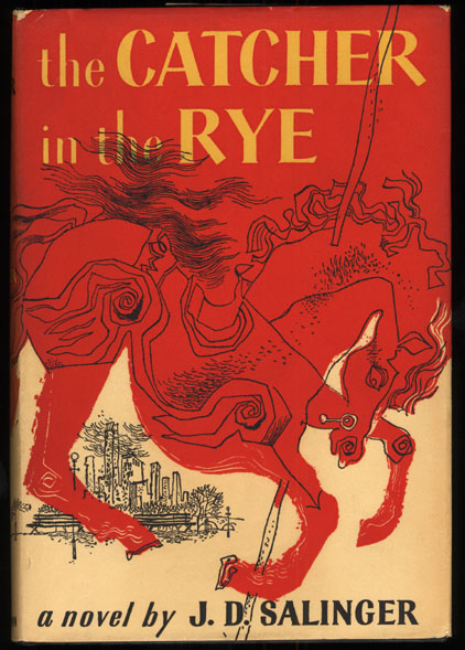 Boekcover The catcher in the rye