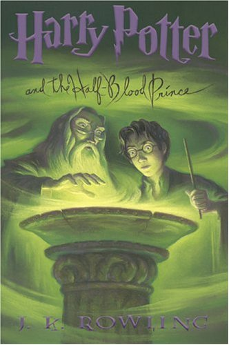 Boekcover Harry Potter and the Half-blood Prince