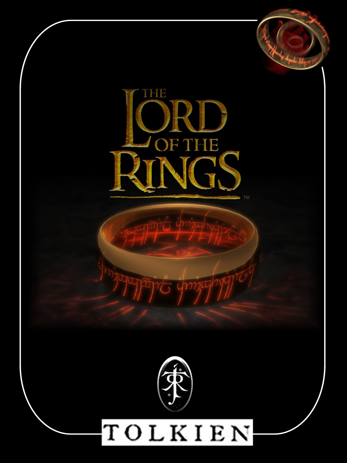 Boekcover The lord of the rings